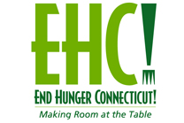 NEW - End Hunger CT! logo