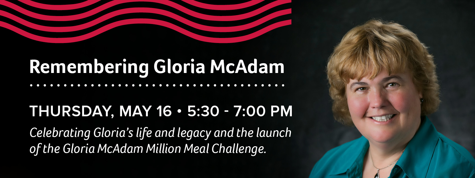 Gloria McAdam Million Meal Challenge Slider 2