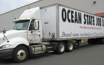 NEW - Ocean State truck delivery 2011