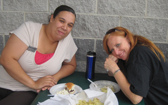 NEW - Foodshare Team Trish and Jenn